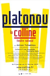 Platonov Théâtre de La Colline