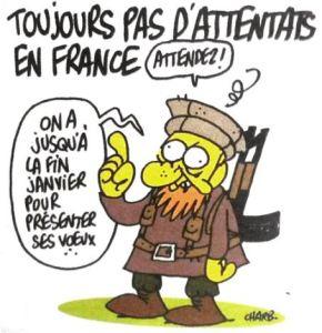 Toujours pas d'attentats en France Charb Charlie Hebdo