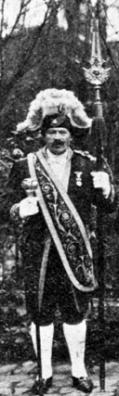 Beadeau costume suisse