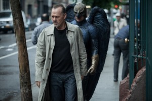 Birdman Michael Keaton double