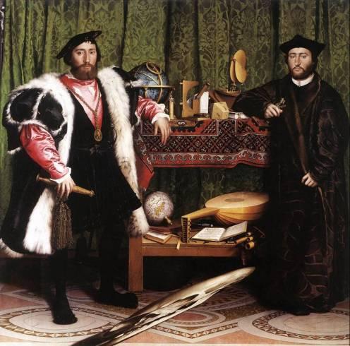 Hans Holbein Le Jeune Les Ambassadeurs