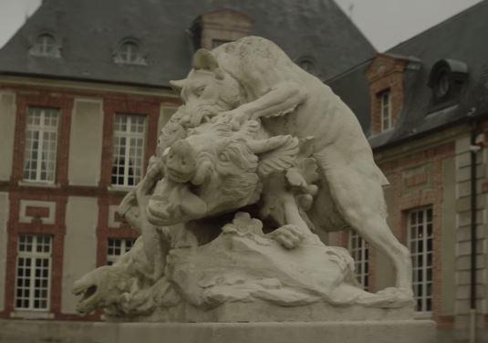 Booba LVMH D.U.C Château de Breteuil Loup dévore un sanglier
