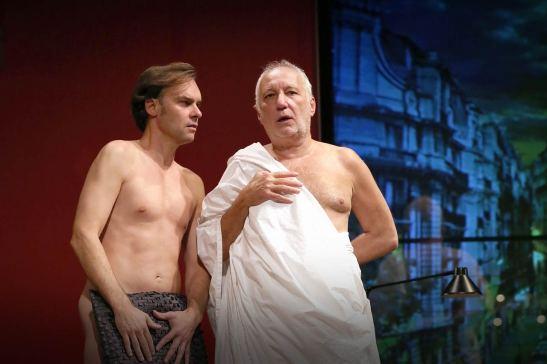 Deux hommes tout nus Sébastien Thiéry François Berléand