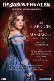 Les Caprices de Marianne Alfred de Musset Vingtième Théâtre Stéphane Peyran Margaux Van Den Plas