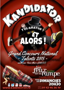 Kandidator Grand Concours National Talents 2015 René-Marc Guedj