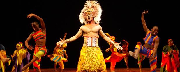 Le roi lion comédie musicale