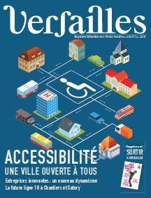 Versailles Magazine couverture mai 2015