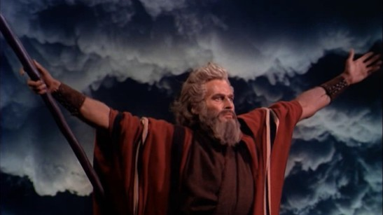 Ten Commandments movie Charlton Heston