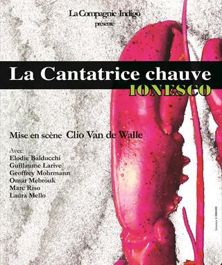 La Cantatrice Chauve Clio Van de walle Laura Mello Théâtre Roi René Festival OFF Avignon 2015