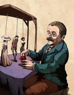 Les marionnettes de la vie Georges Courteline