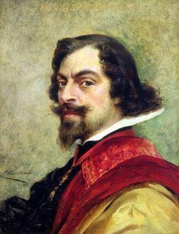 Portrait de Mounet Sully, qui joua Louis XIII en 1905 à la Comédie Française