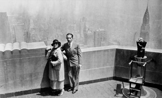 Colette et Maurice Goudeket