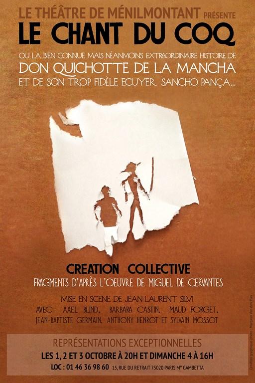 Le Chant du Coq Théâtre de Ménilmontant