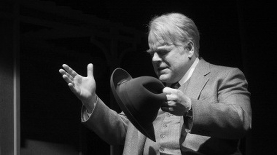 Philip Seymour Hoffman Death of a salesman