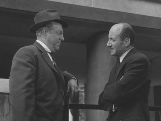 Maigret tend un piège Jean Gabin Olivier Hussenot Jean Delannoy