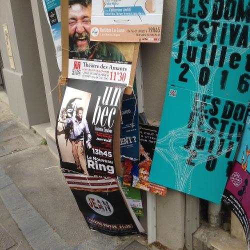 Affiches Festival d'Avignon OFF 2016 (6)
