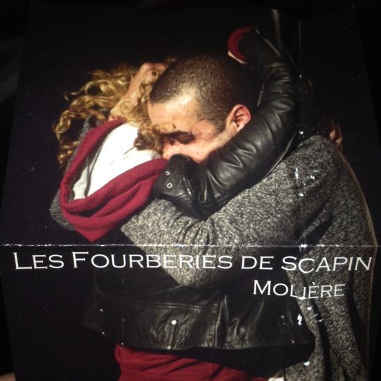 Les Fourberies de Scapin affiche Festival Avignon OFF 2016 Théâtre Notre-Dame.JPG