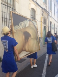 L'Origine du monde parade Festival Avignon OFF 2016 Cut