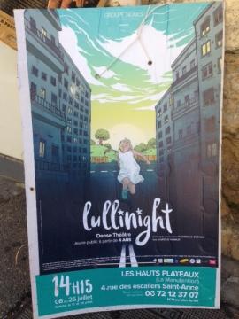 Lullinight La Manutention affiche Festival Avignon OFF 2016
