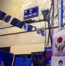 Rue du Bon Martinet Avignon