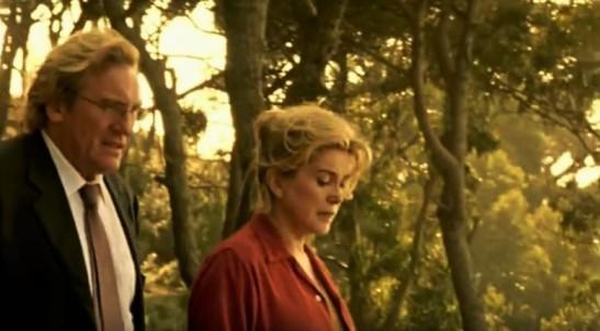 Gérard Depardieu Catherine Deneuve Les Temps qui changent film André Téchiné