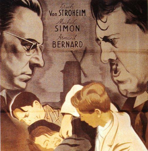 Les disparus de Saint-Agil Christian-Jaque film affiche Michel Simon Erich Von Stroheim.JPG