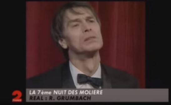 Laurent Terzieff Nuit des Molière