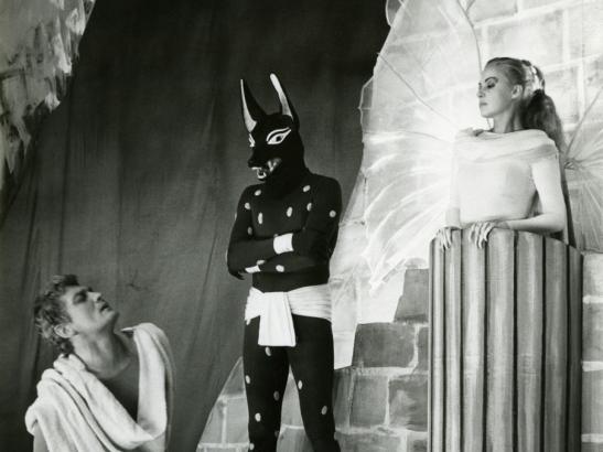 La Machine infernale Jean Cocteau Jean Marais Jeanne Moreau Oedipe Le Sphinx Anubis