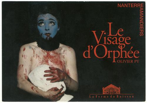 Le Visage d'Orphée Olivier Py Amandiers