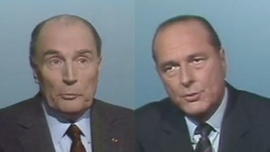débat présidentiel François Mitterrand Jacques Chirac 1988