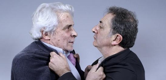 jacques weber françois morel débat mitterrand chirac 1988 théâtre de l'atelier