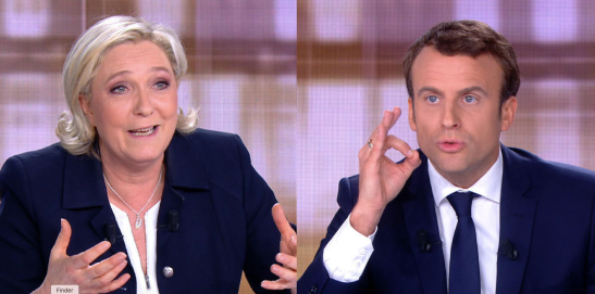 Débat Marine Le Pen Emmanuel Macron présidentielles 2017.png