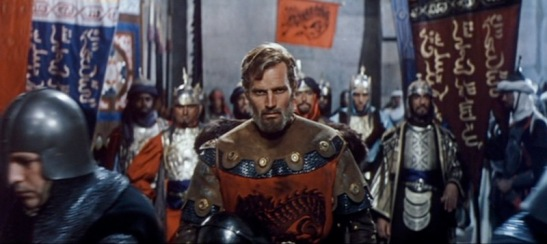 El Cid Anthony Mann film Charlton Heston