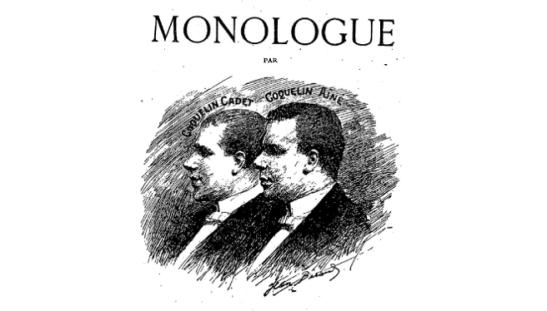 L'art de dire le monologue Coquelin