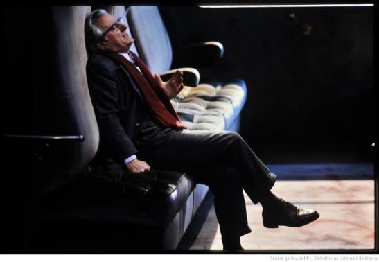 Michel Aumont l'homme du hasard Yasmina Reza mise en scène patrice alexsandre théâtre hébertot