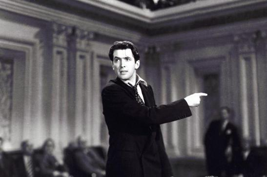 Mr Smith Goes to Washington James Stewart Jefferson Smith Frank Capra film speech