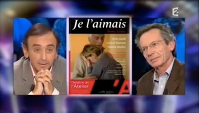 Patrice Leconte Eric Zemmour On n'est pas couchés France 2