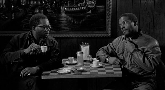 No Problem Coffee and Cigarettes film Alex Descas Isaach de Bankolé Jim Jarmusch