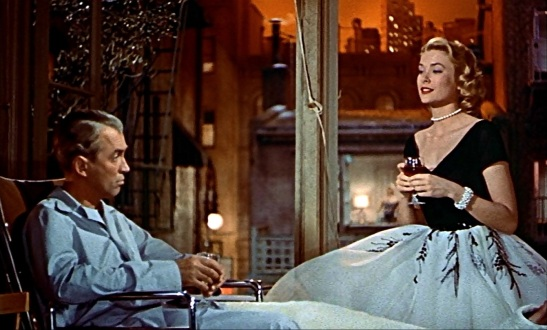 Rear Window Fenêtre sur cour Hitchcock James Stewart Grace Kelly