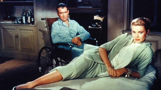 Rear Window Grace Kelly James Stewart Hitchcock