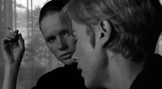 Persona Ingmar Bergman Bibi Andersson Liv Ullmann film