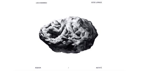 Pochette album Requiem : Nativité Lucio Bukowski Oster Lapwass Yoann Merienne