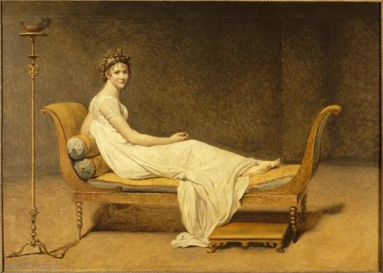Madame Juliette Récamier tableau Jacques-Louis David Musée du Louvre