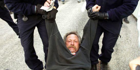 José Bové arrestation