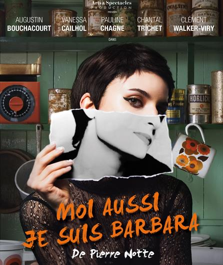 Moi aussi je suis Barbara affiche spectacle