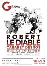 Robert le Diable affiche spectacle avignon off 2018