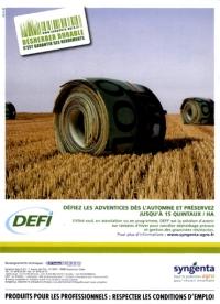 Syngenta herbicide DEFI désherber durable 2009 publicité.jpg