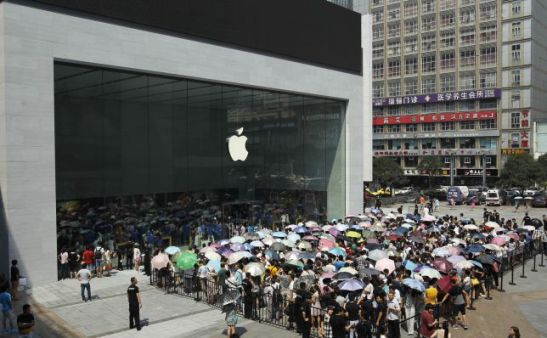 Apple Store opening China