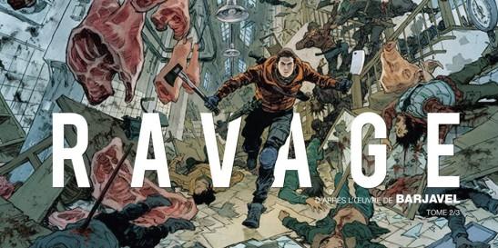 Ravage Tome 2 couverture Morvan