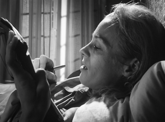 Silence film Ingmar Bergman Esther Ingrid Thulin